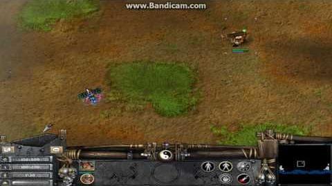 Battle Realms Ballistaman Totem Shooting Bugs