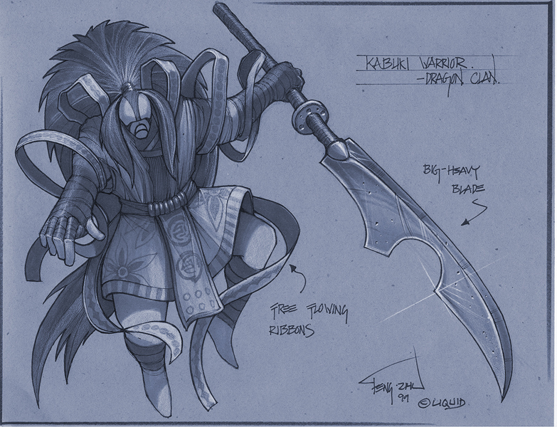 Kabuki Warrior Battle Realms Wiki Fandom Powered By Wikia