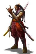 Serpent Hero Shinja White