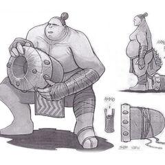 Powder Keg Cannoneer Concept Art