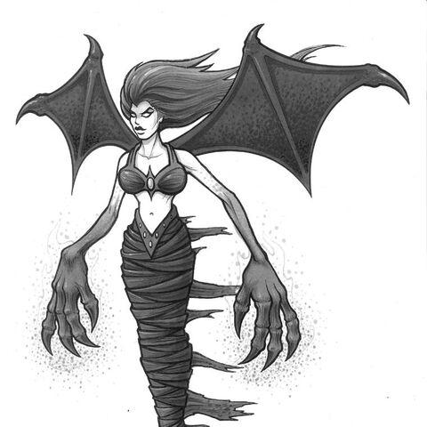 Demoness Concept Art
