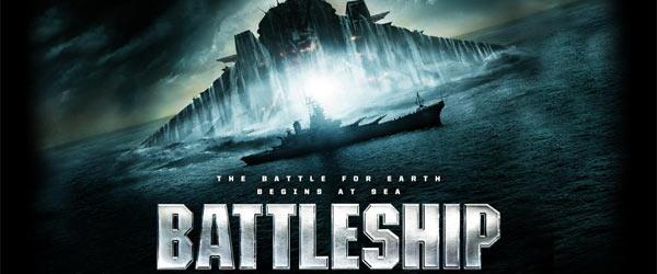 Battleship 2012 Movie Title Banner