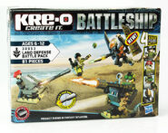 Kre-O Battleship Land Defense Battle Pack PKG
