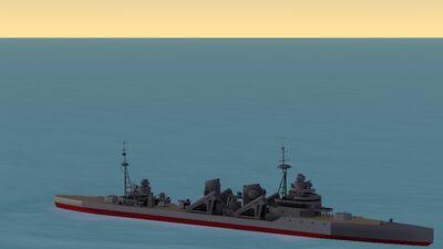 Shiratsuyu-Class Destroyer