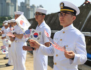 ROK Navy Sailors