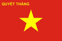 Vietnam People's Army Ground Force Flag 1