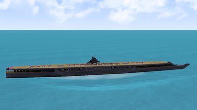 IJN Amagi-Class Supercarrier