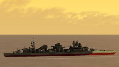 Wakatake-Class Destroyer