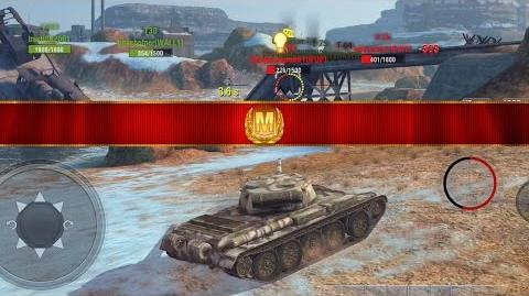 World of Tanks Blitz - T-54 . 1 aced