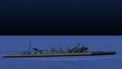 Kitakami-Class Torpedo Cruiser