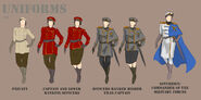 Royal Navy Uniforms (Female)