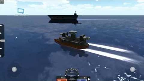 U.O.N. Barracuda-class Frigate (SimplePlanes Warship)