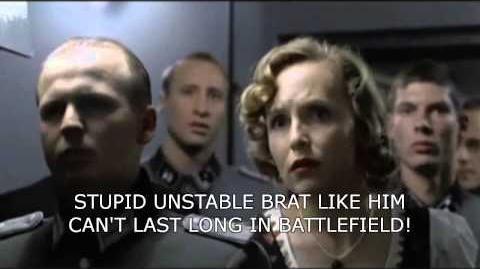 Hitler's reaction after last episode of Aldnoah Zero