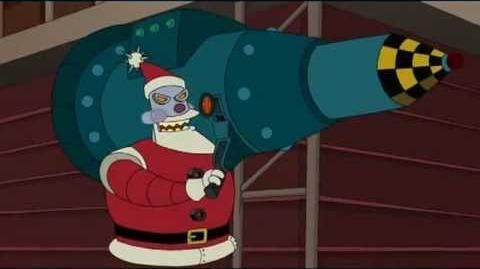 Futurama Robot Santa Holidays Are Coming (parody) RUS