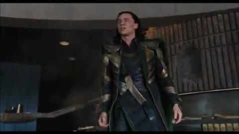 The Avengers - Hulk Smashing Loki (Good Quality)