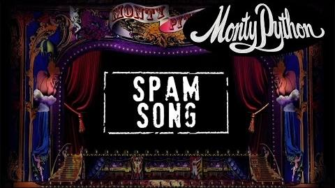 Monty Python - Spam Song (Official Lyric Video)