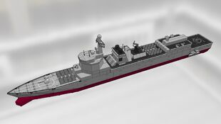 Type 052A Build