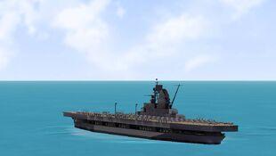 USS Hornet Test Run