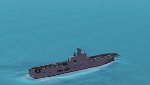Type 081 LHD Water