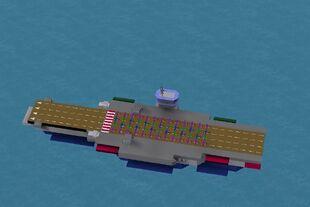Largest Carrier Built
