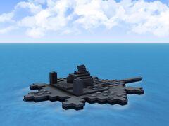 USS Turtle Shore B-7