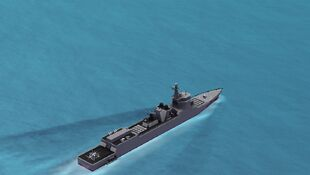 Type 052A Water