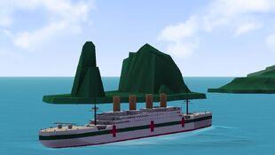 HMHS Britannic on test run.jpeg