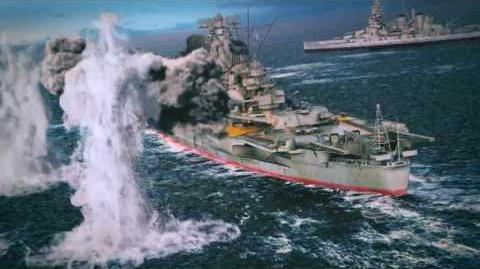 Battleship Blood & Sea