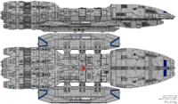 Battlestar Eternal (Mercury Class)