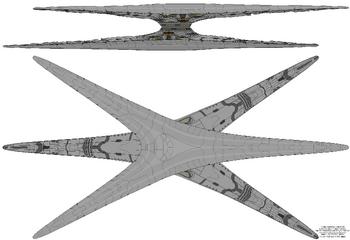 Nemesis Class Basestar Schematic