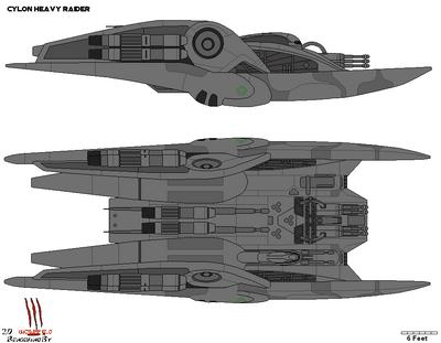 Cylon Heavy Raider