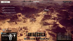Battletech - Screenshot - taktische Ansicht
