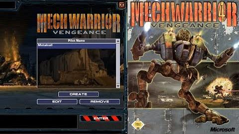 MechWarrior 4 Vengeance (PC Intro)