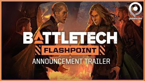 BATTLETECH - GAMESCOM DLC Flashpoint Announcement Trailer 2018 (HD)