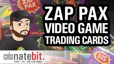 Collection Corner - Video Game Trading Cards Part 1 - Zap Pax