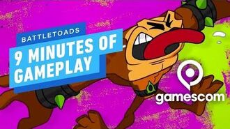 9 Minutes of Battletoads Gameplay - Gamescom 2019