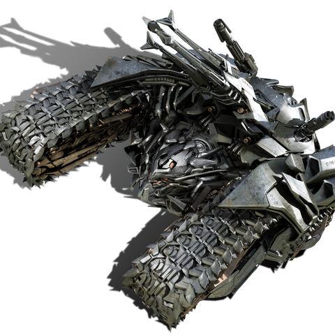 Megatron's Vehicle Mode