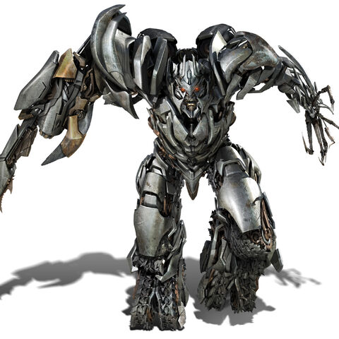 Megatron with his Fusion Cannon