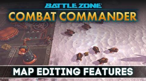 Battlezone Combat Commander - Map Editing Features