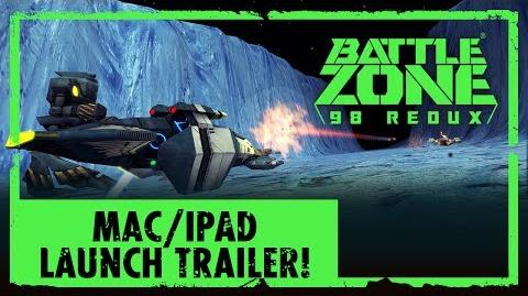 Battlezone 98 Redux - OUT NOW on Mac & iPad!