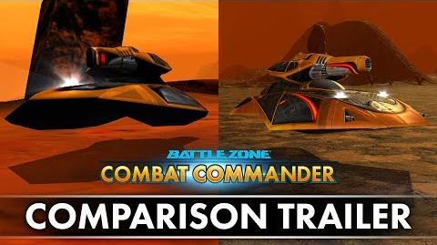 Battlezone Combat Commander - Comparison Trailer