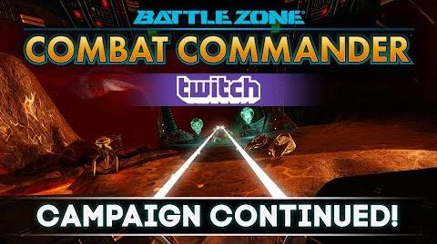 Twitch Battlezone Combat Commander - Campaign Continued!