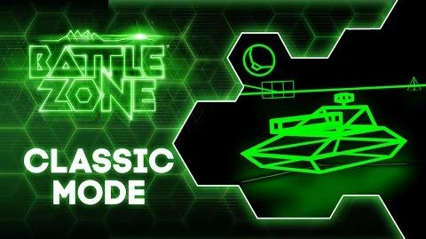 "Battlezone ""Classic Mode"" Free Update Trailer PlayStation VR"