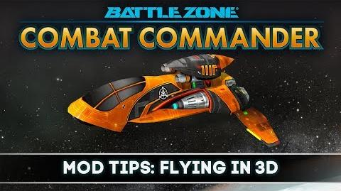 Battlezone Combat Commander - Mod Tips Flying In 3D