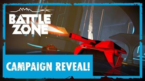 Battlezone Official Campaign Reveal Trailer VR