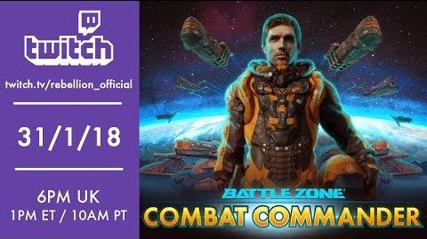 Battlezone Combat Commander - Beta Gameplay!