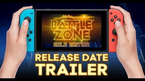 Battlezone Gold Edition - Release Date Trailer Nintendo Switch