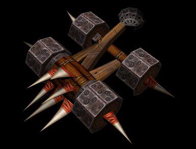 World of Warcraft Catapult Papercraft