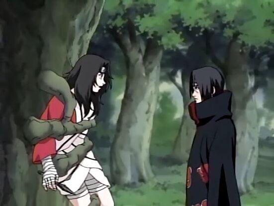 Kurenai and Itachi