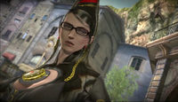 Bayonetta - Bayonetta contempating on Luka's words